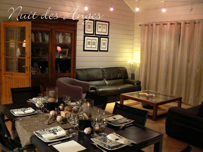 Nuit des anges décoratrice de mariage décoration de table scandinave 018