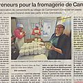 Camembert ne sera plus dans camembert...