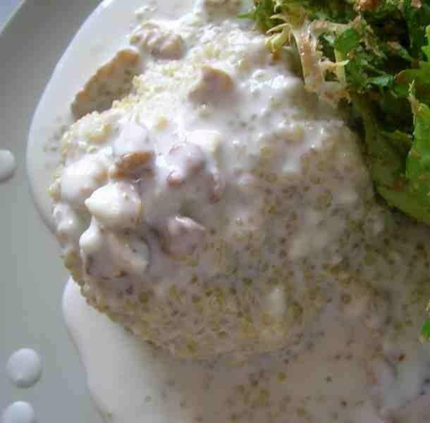 quinoa au roquefort