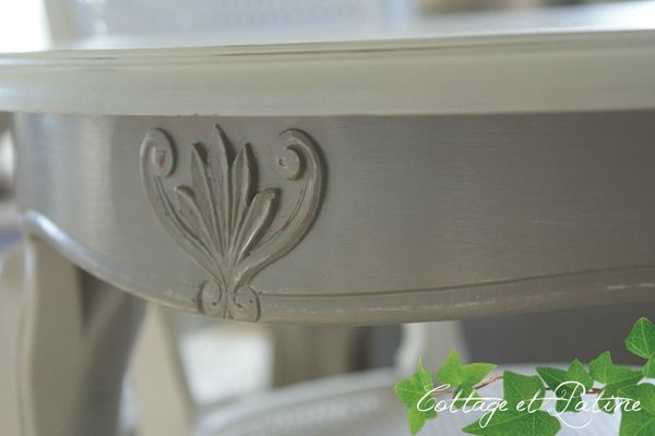 Cottage et Patine table_zoom_motifs_apres