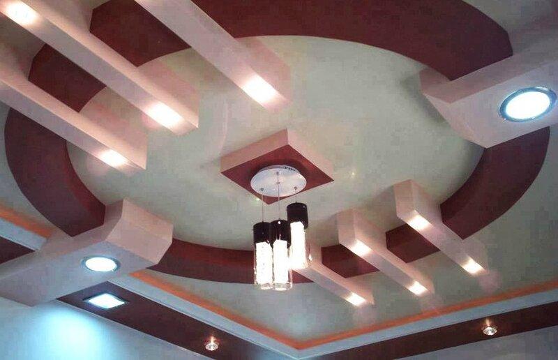 Déco plafond marocain lumineux