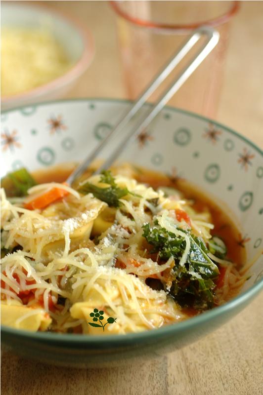 Soupe de légumes aux tortellini_3