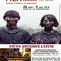 Festival Internacional de Film de Nancy-Lorraine 2016. Focus Amerique Latine