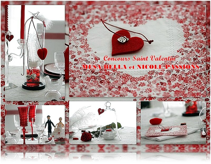 table saint valentin 2017