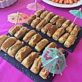 Mini cakes au pesto