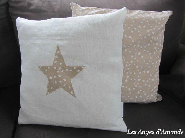 lin blanc étoile sable