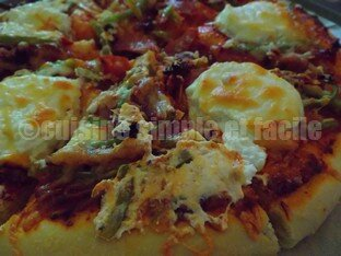 pizza chorizo chèvre 06