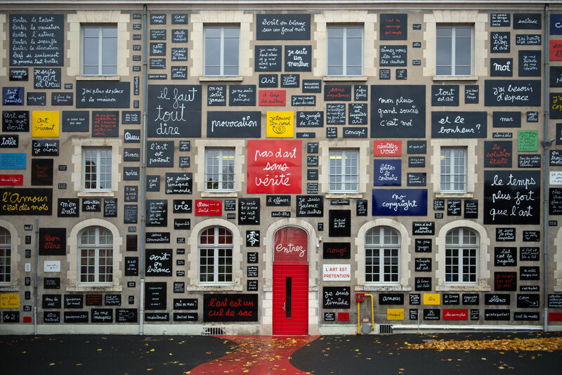 La Fondation du doute, Blois, 2016