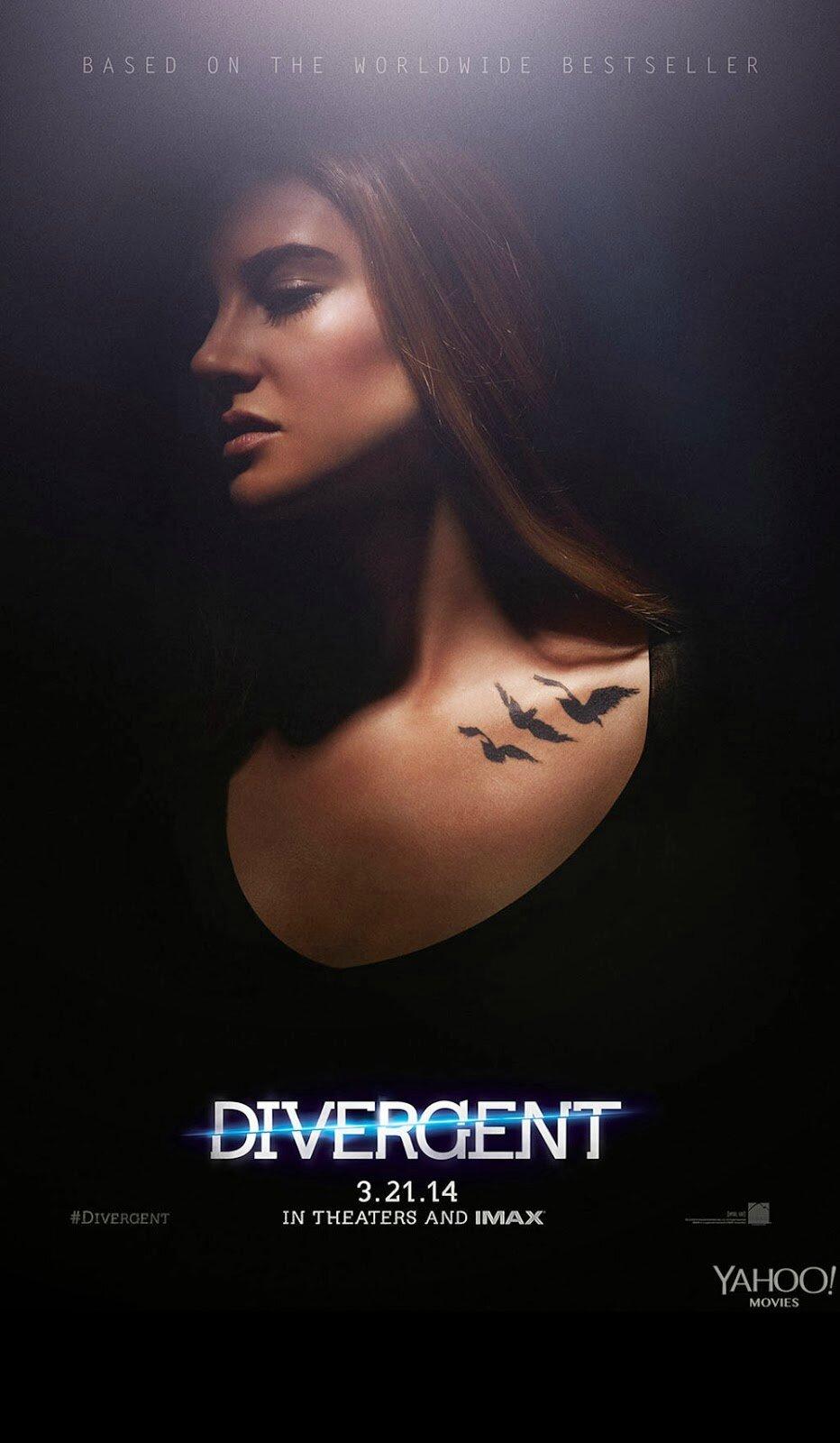 Tris poster Divergent movie
