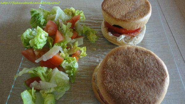 Muffins anglais façon sandwiches à l'italienne (6)