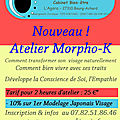 Nouveau! morpho-k : transformer son visage naturellement!