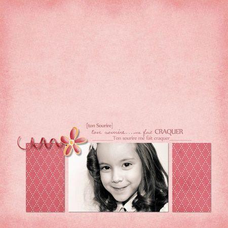 22 mars Ton sourire - mini kit laurencedesigns