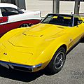 Chevrolet corvette stingray convertible-1969