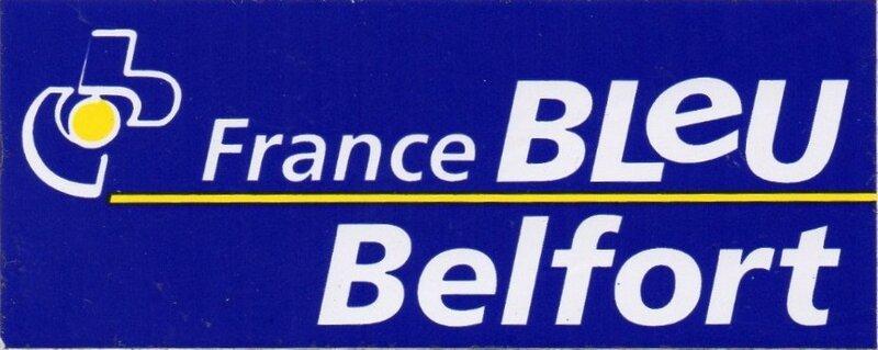 Autocollant France Bleu Belfort