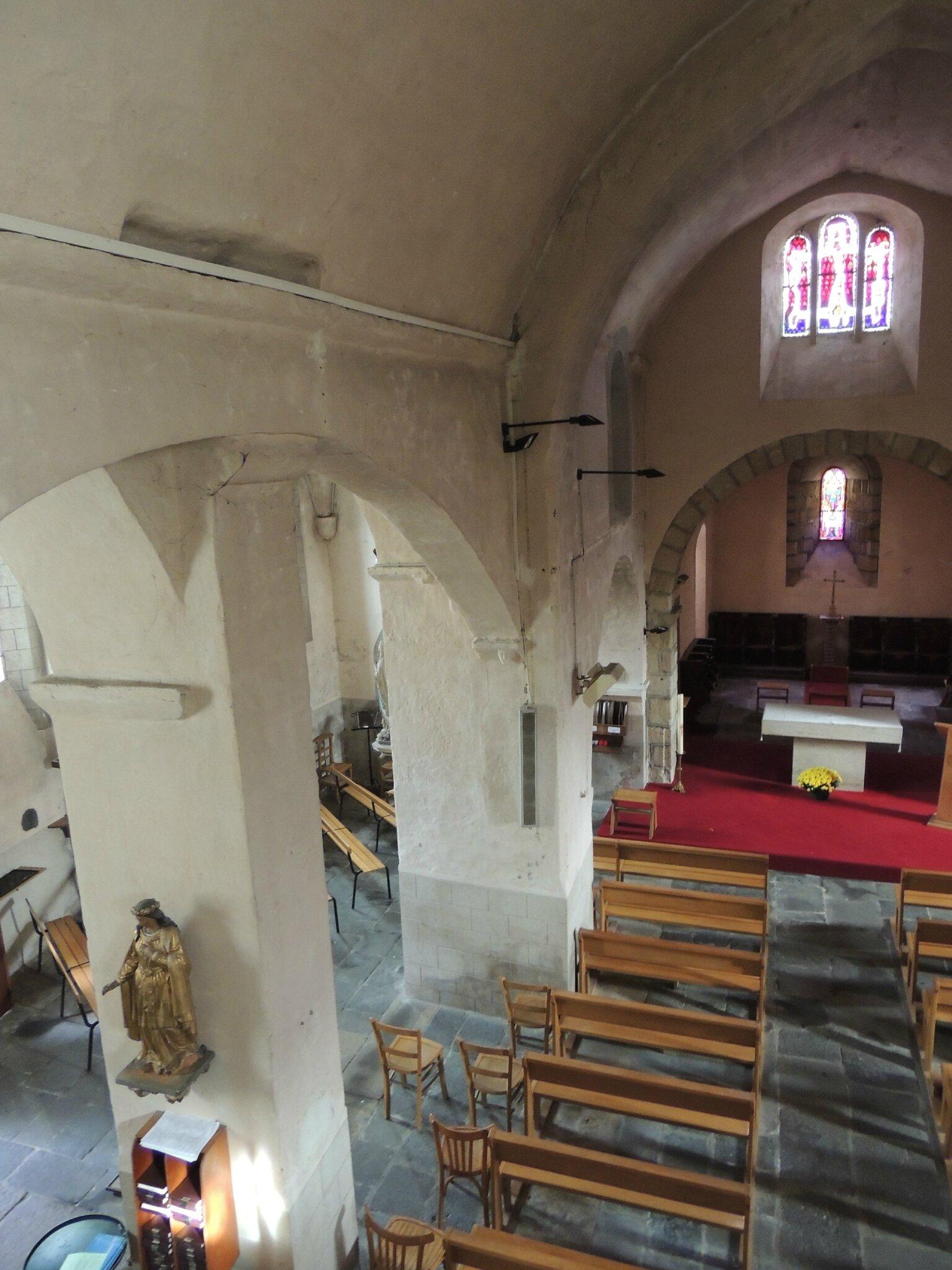 Eglise Saint-André, Coudes -63- (26)