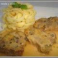 Filet mignon de porc au côtes du jura blanc et aux échalotes- visite de varsovie étape 3