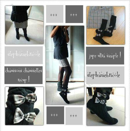 chausson chaussette recup - NOVEMBRE 2011