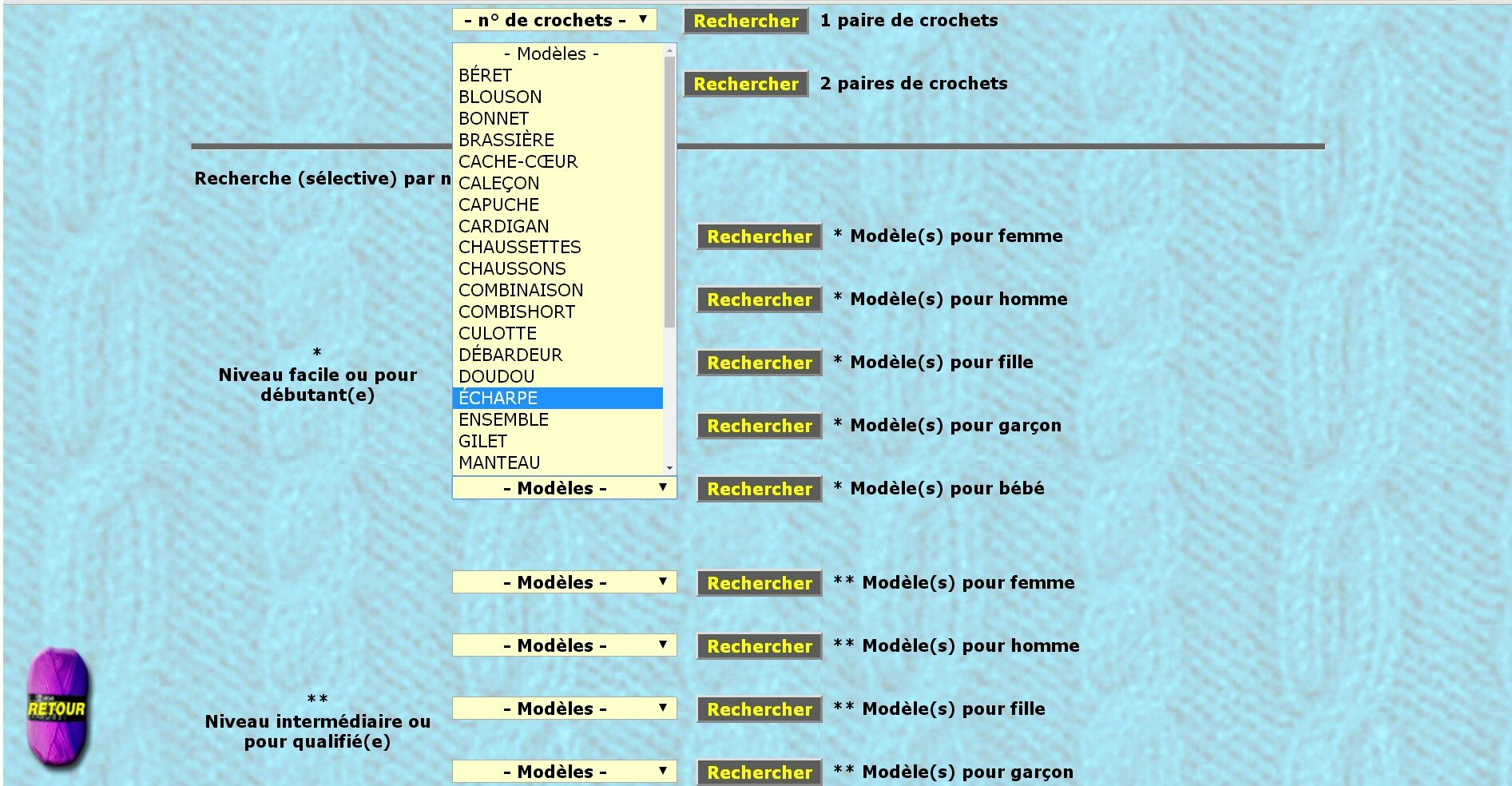 mailledelaine pages modeles accueil