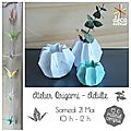 Atelier origami pour adultes