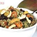 Salade sucrée-salée de brocoli-mangue-kaki