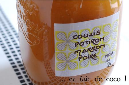 Coulis potiron-marron-poire-lait de coco_4
