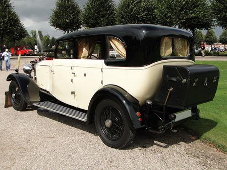 ROLLS ROYCE 20 25 HP Six Light Lancefield Coachwork Sport Limousine 1932 Classic Gala de Schwetzingen 2009 3