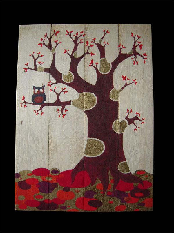 arbre hibou