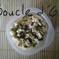Salade de petites pâtes au thon