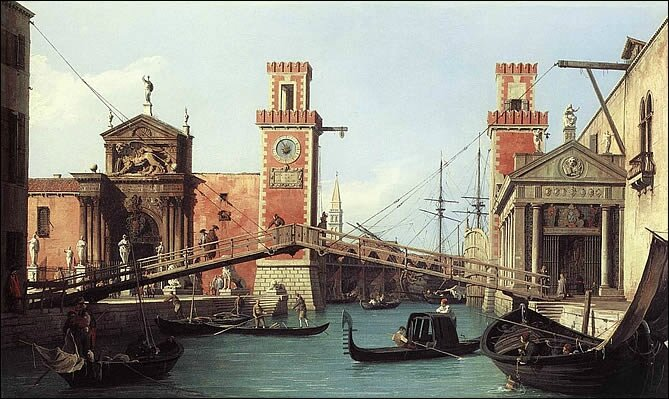 arsenal venise canaletto
