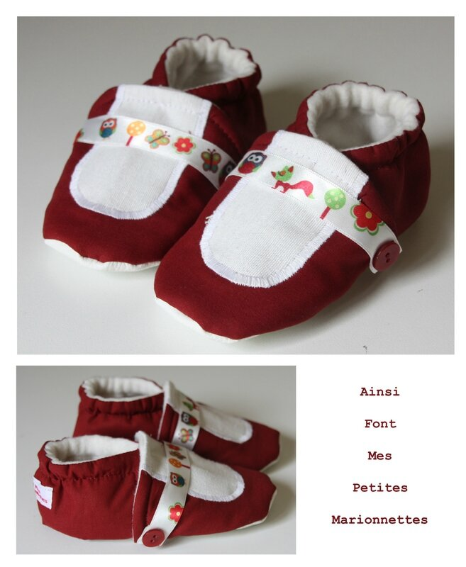 chaussons ballerine animaux