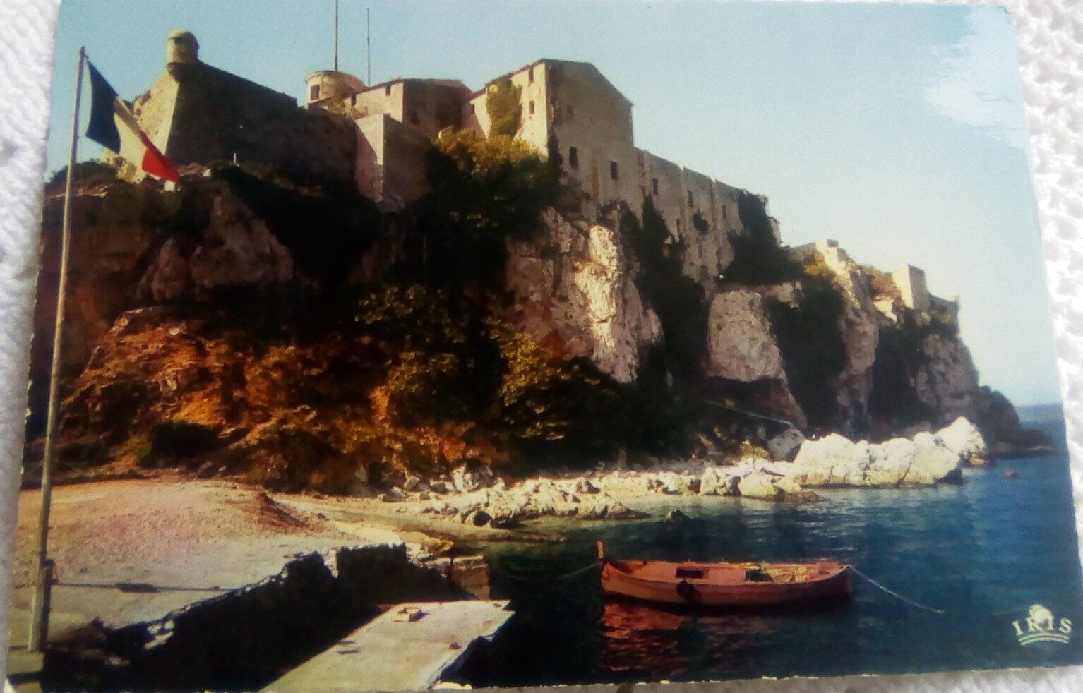 Cannes 1 - l'ile ste Marguerite - la prison du masque de fer