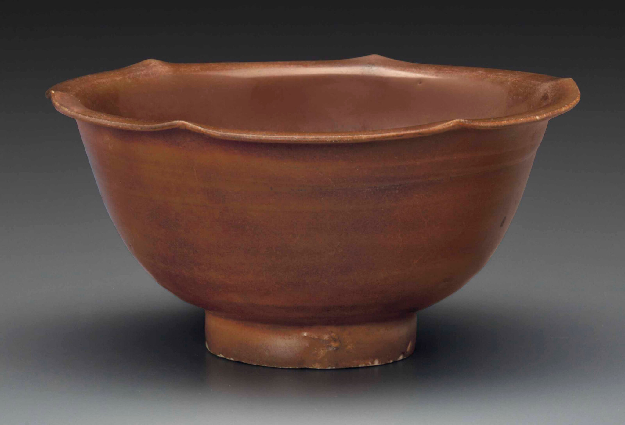 A russet-glazed Yaozhou bowl, Northern Song Dynasty, 11th century
