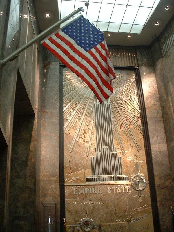 Dans l'Empire States Building