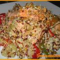 Fricasse de truite aux légumes quinoa 2 filets de