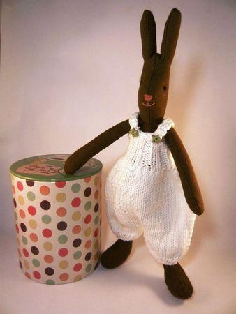 vêtements pour poupée tissu small lapin maileg