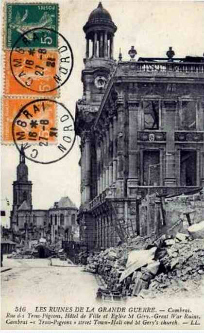 Cambrai ruines GG