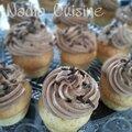 Mini-cupcakes nutella