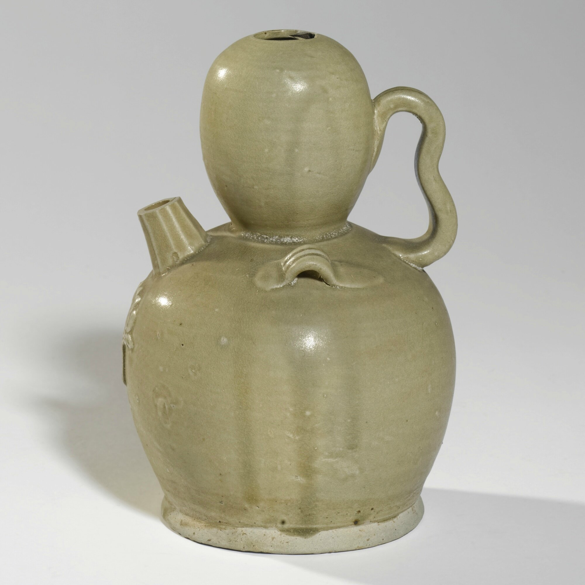 'Changsha'-type pottery ewer, Tang dynasty (618-907)