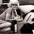 Décembre 1961 marilyn à une fête privée