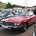 MERCEDES 380 SL R107 roadster avec hardtop version US Soultzmatt (1)