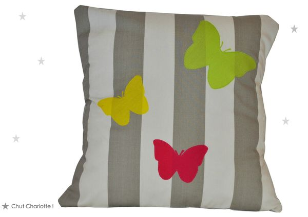 Coussin Papillons (1bis)