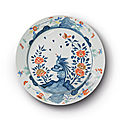 A meissen kakiemon large charger, circa 1735-40
