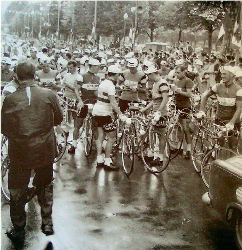 Départ du TDF à Périgueux en 1961