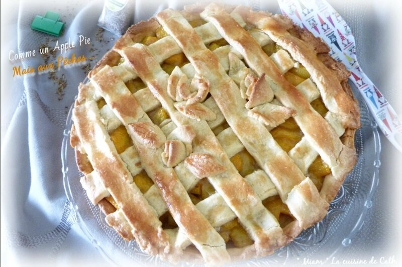 apple pie pêches