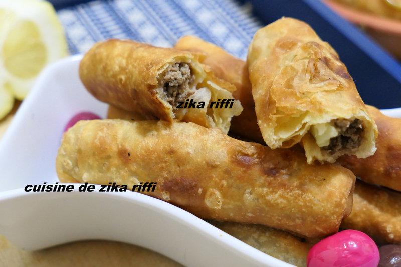 bourek laadjine algérois, recette authentique 3
