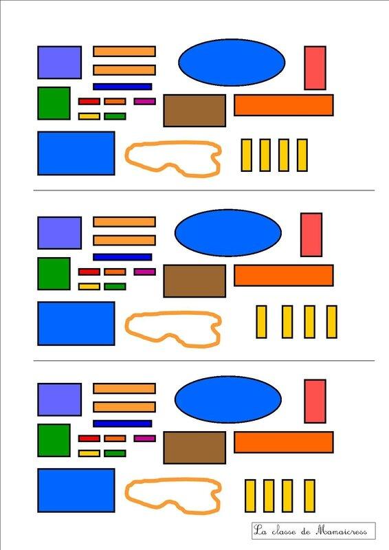 plan 2 objets