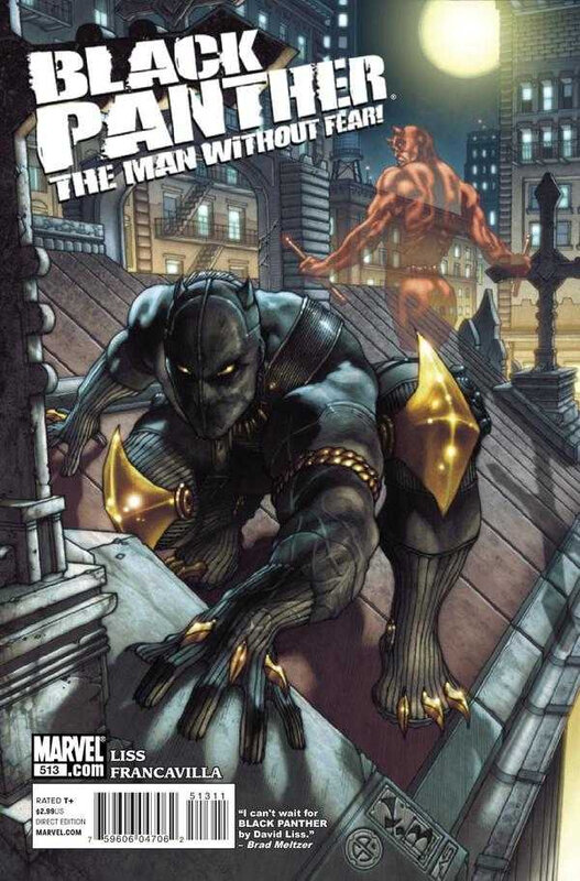 black panther the man without fear 513