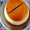 Crème dessert ou flan au caramel