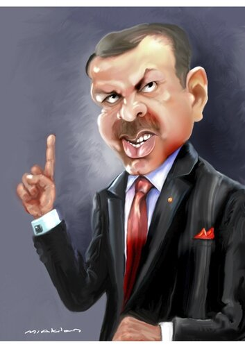 Erdogan caricature