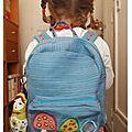 Septembre 2011 un petit sac à dos avec un tuto